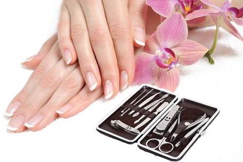 bộ cắt móng tay 12 món cao cấp