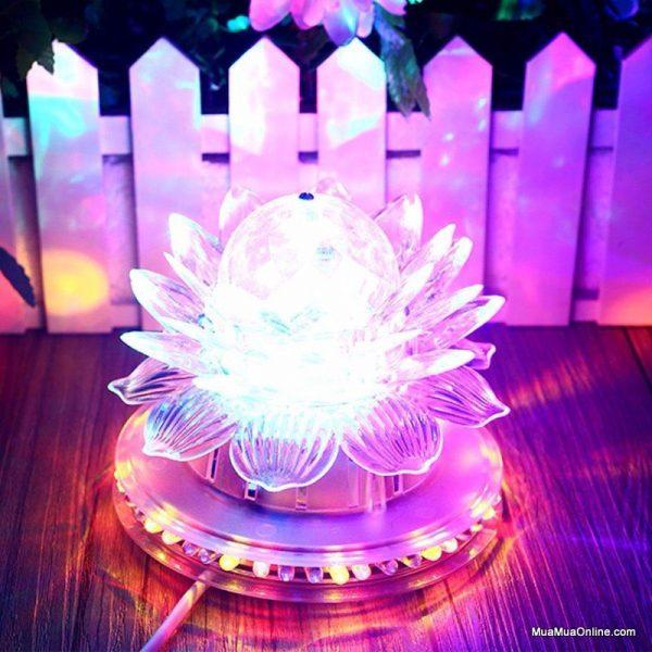 đèn thờ hoa sen led