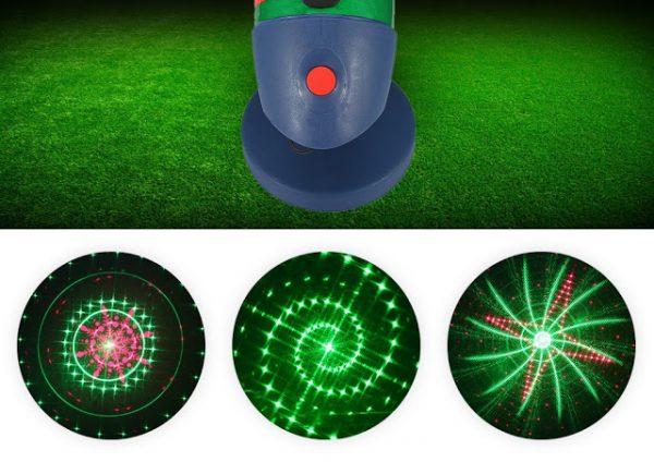 Đèn laser trang trí tết giáng sinh