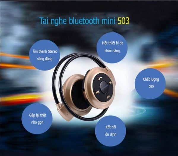 Tai nghe bluetooth 503 T